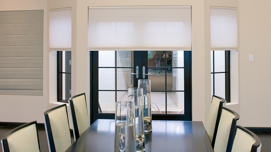 Electric Cellular Blinds - Offers