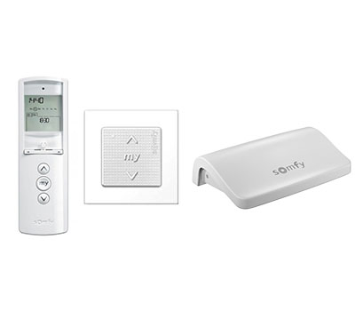 Handsets, wall switches or hub