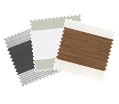 A wide range of Vision duo fabrics