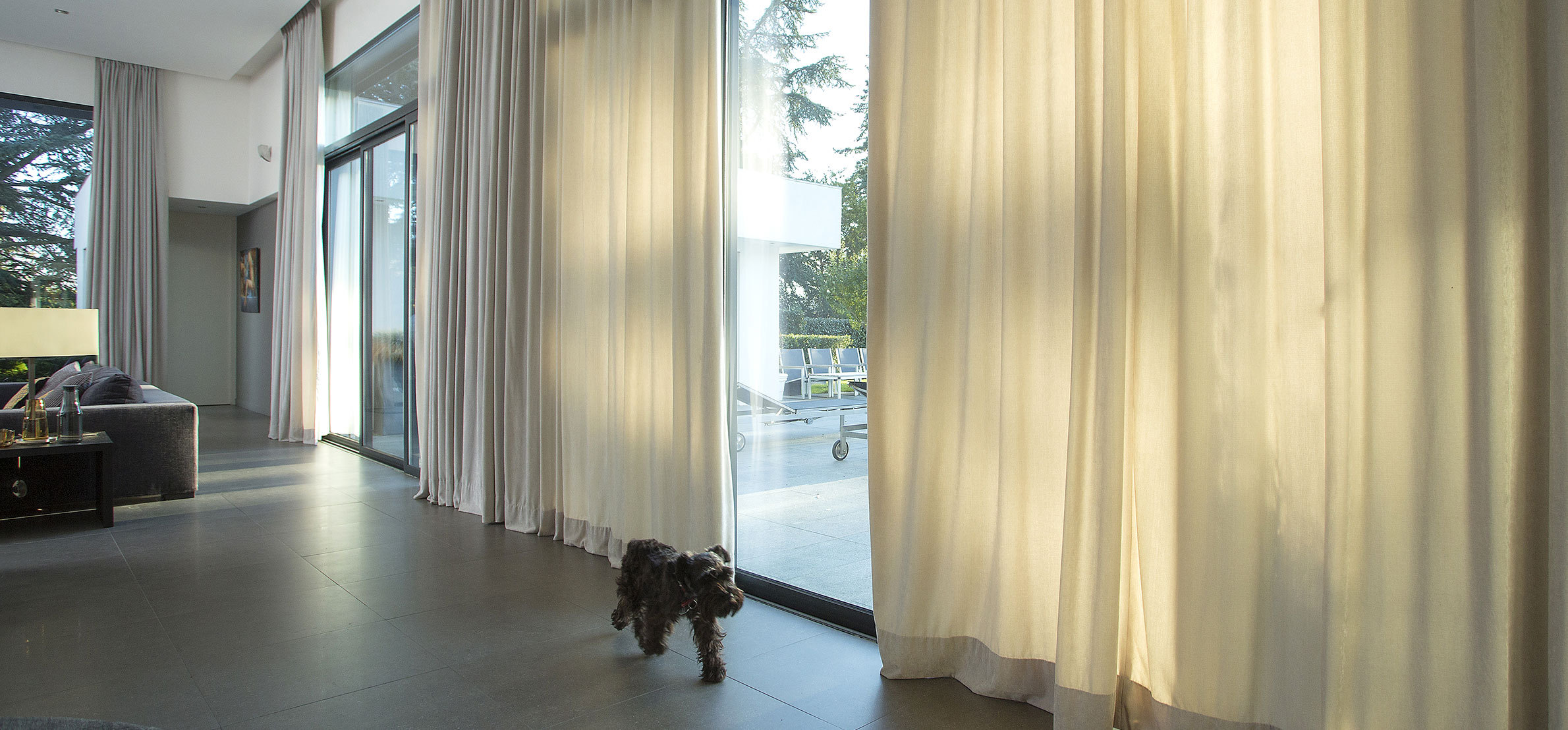 Touch Motion Irismo electric curtain tracks