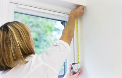 Measuring your blinds