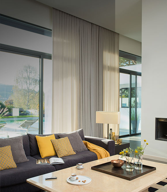 Automatic Window Blinds >> Beautiful Made To Measure Electric Blinds Motorised Blinds Buy