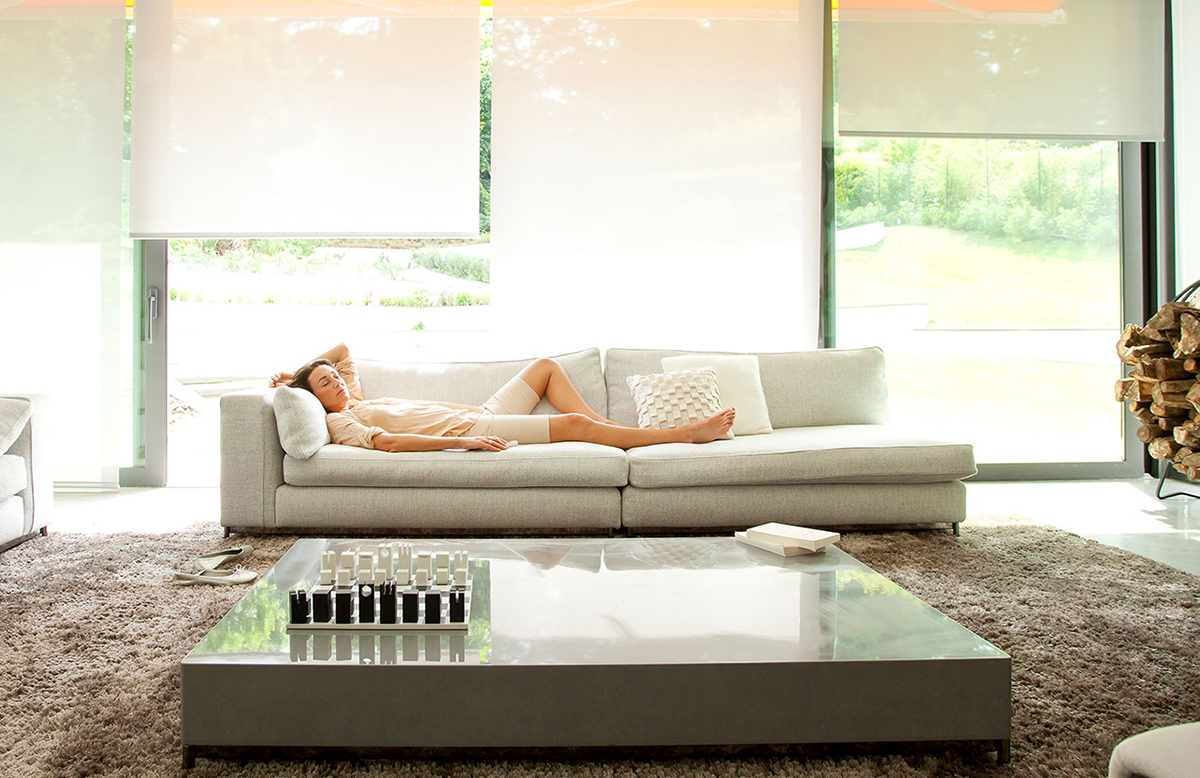 Beautiful Electric Blinds Remote Control Motorised